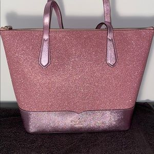 💕Authentic Kate spade large glitter tote💕